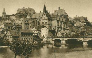 Marburg, Schloss und Universität, Deutschland