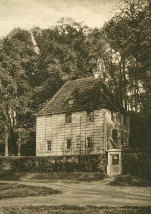 Weimar Goethes Gartenhaus, Deutschland