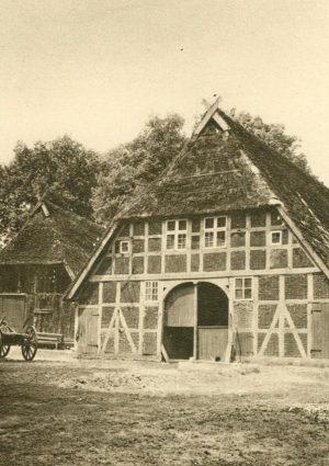 Niedersächsisches Haus in der Heide, Deutschland