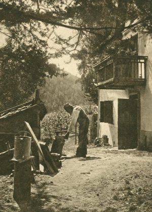 Bauer bei der Arbeit, Schweiz