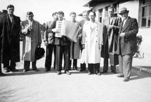 Gruppenbild der Männer