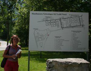 Übersichtsplan Ehem. KZ Mauthausen Lager Loibl