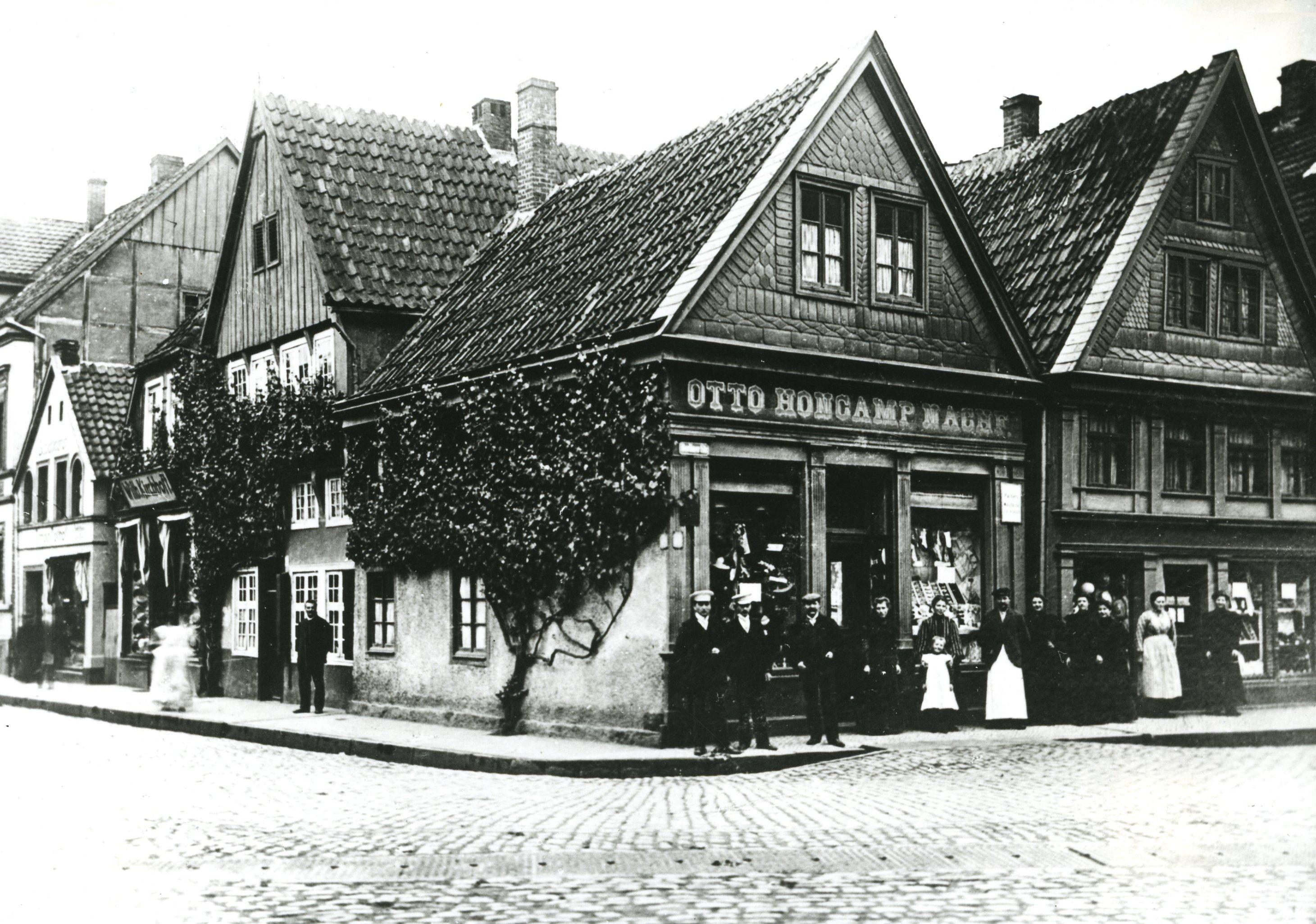 1900 g tersloh ecke berliner stra e kreuzung blessenst tte haus nr 170 familie otto. Black Bedroom Furniture Sets. Home Design Ideas