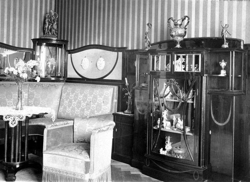 1910 wohnzimmer fotos auf for Wohnungseinrichtung shop