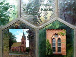 St. Pauli Kirche, Hörpel – Collage