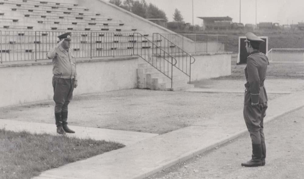 1973 - NVA Truppe MSR 17/ 11.MSD Weißenfels, KC 3.MSK