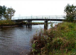 Brücke über die Mehe
