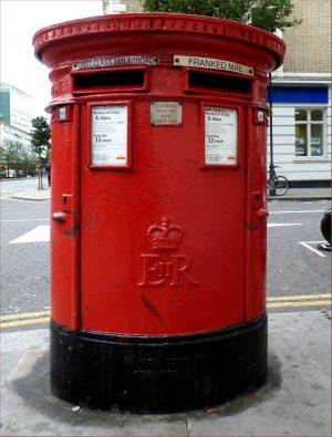London Pillar Box