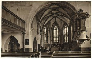 Groß-Zimmern – Evangelische Kirche – 1940er Jahre