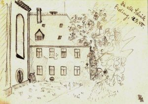 Erding – Die alte Schule 1948