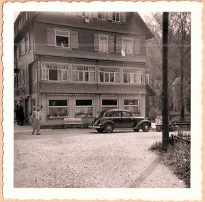 Beiertal im Schwarzwald 1955