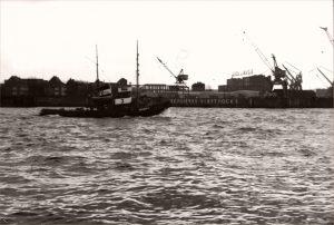 Bugsier 3 und Schlieker Werft 1962