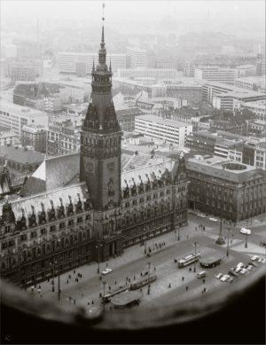 Rathaus Hamburg 1962
