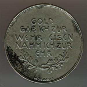 1916 – In Eisener Zeit