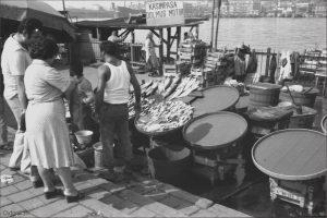 Fischhandel in Istanbul