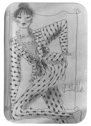 Fashion Design by Miss Estella Saville