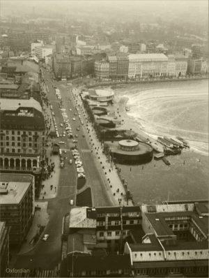 Jungfernstieg – Hamburg – 1962