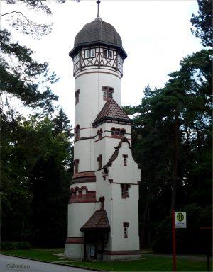 Wasserturm Friedhof Ohlsdorf