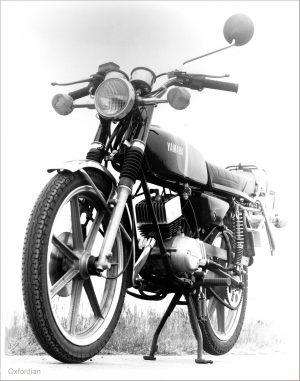 1980er Yamaha Mokick