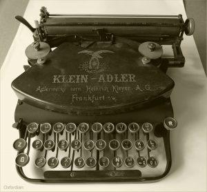 Adler Schreibmaschine um 1912