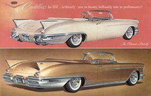 Cadillac Biarritz '57 vs '58