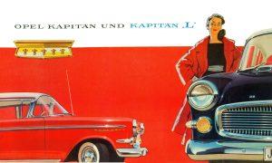 1958 OPEL Kapitän P