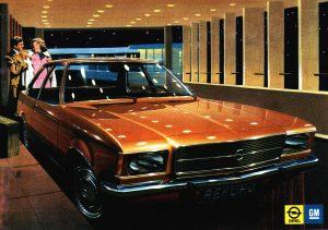 1971 OPEL Rekord D