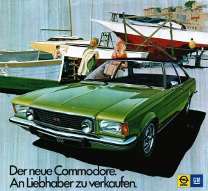 1972 OPEL Commodore B