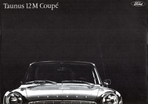 1963 FORD Taunus 12M