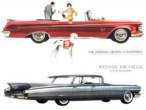 '62 Imperial vs '60 Cadillac
