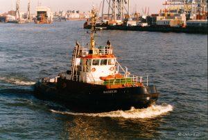 Hamburger Hafen – Schlepper Bugsier 20