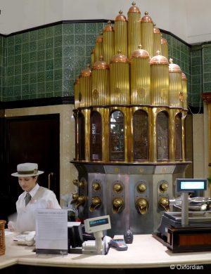 Kaffee einkaufen bei Harrods