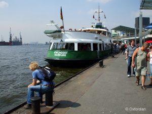Hamburg – St. Pauli-Landungsbrücken
