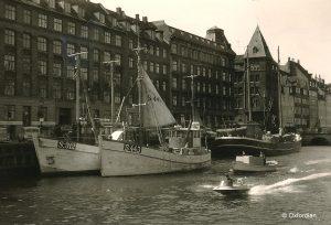 Kopenhagen – Nyhavn 1962
