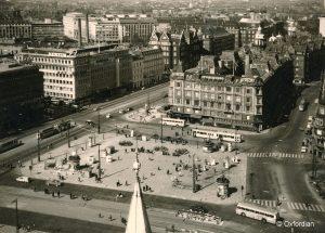 Kopenhagen – Rathausplatz 1962