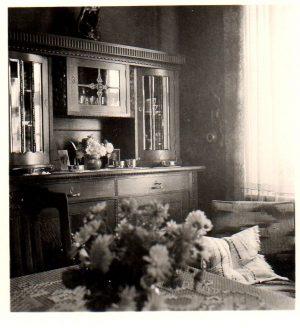 das Wohnzimmer meiner Großeltern in Schleswig, Chemnitzstraße