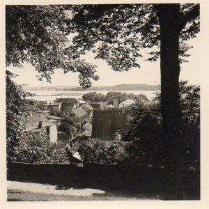 Blick auf Schleswig von der Allee