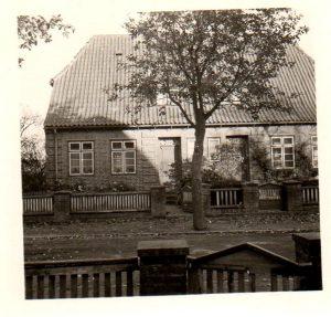 Haus Chemnitzsraße 37. eine Reihe von Häusern für Kriegsheimkehrer. Heute unter Denkmalschutz