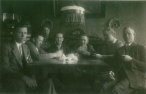 Hochdonn – Kartenspieler bei Familie Denzau
