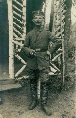 Hans Otto Denzau – Deutscher Soldat in Wien