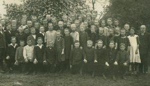 Klassenfoto Volksschule Hochdonn