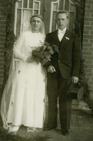 Hochdonn – Hochzeit von Ernst und Lene Grell