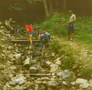 Untersuchung eines Staudamms