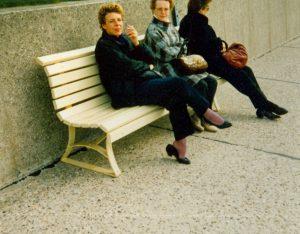 Die drei auf der Bank