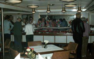 In der Schiffskombüse
