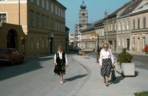 Stadtbummel, Eisenstadt, Österreich
