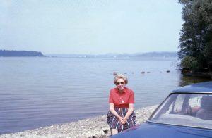 Vor dem See