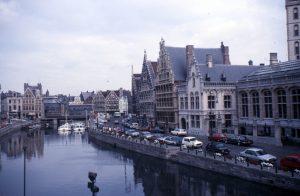 Stadtansicht von Gent