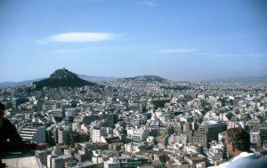 Stadtansicht von Athen