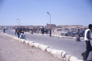 Auf der Straße nach Gizeh